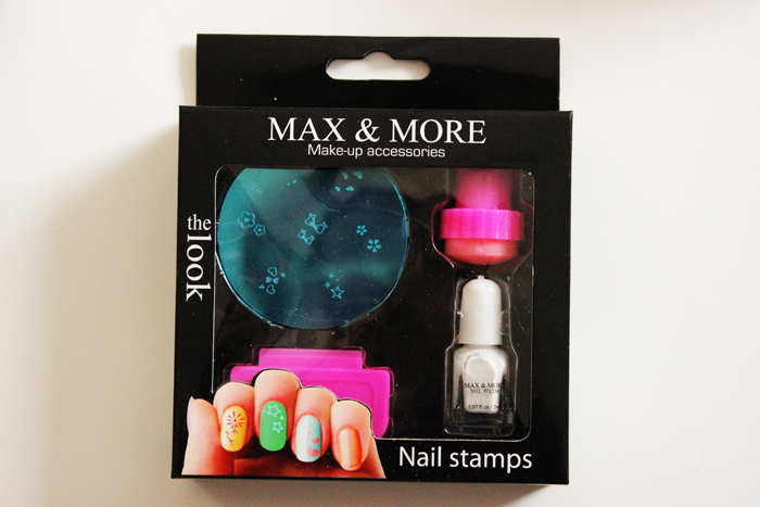 Action Cosmetica Max More Nail Art Stamps Stempelsetje