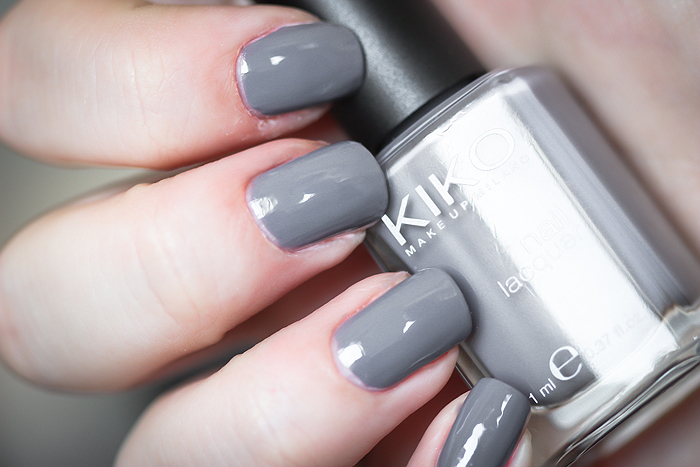 KIKO Nail Lacquers - 380 Medium Grey & 311 Electric Pink - Beauty Lifestyle