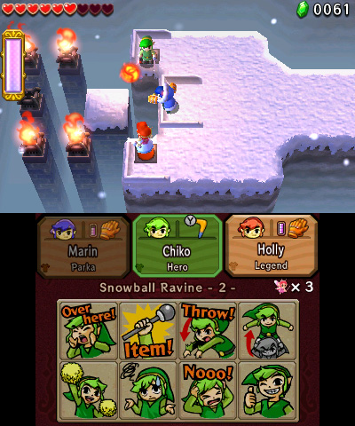 The Legend of Zelda: Tri Force Heroes Review - Games Nintendo