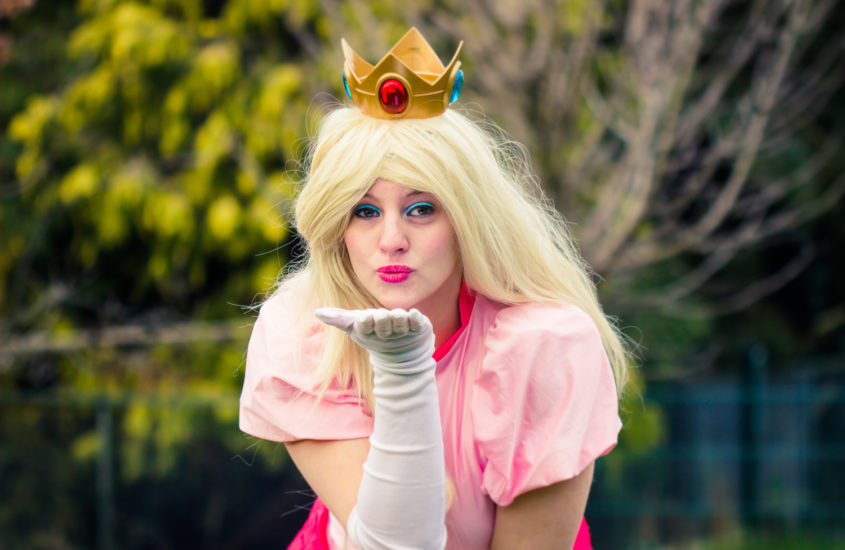 Princess Peach Photoshoot