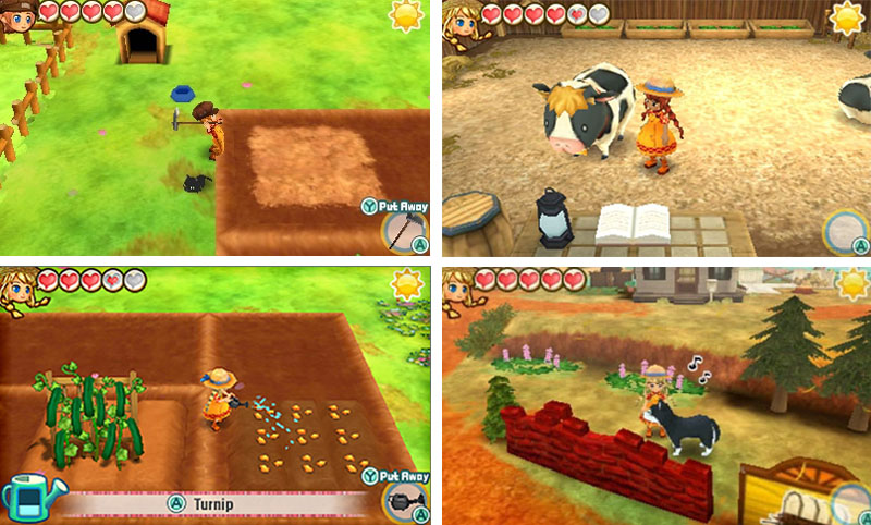 Story of Seasons: Trio of Towns - Games